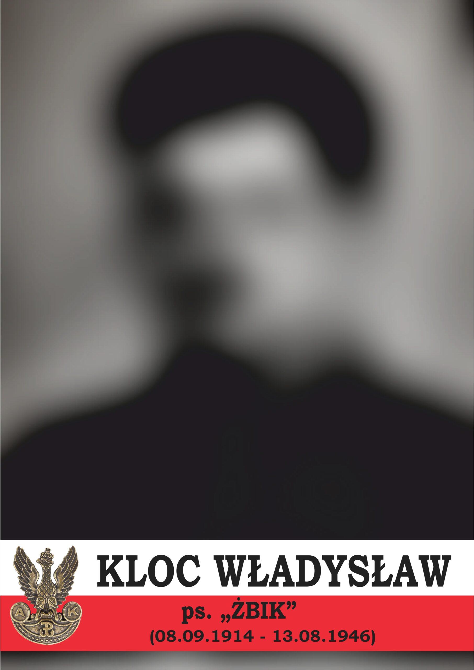 Portret_Kloc Władysław – ŻBIK
